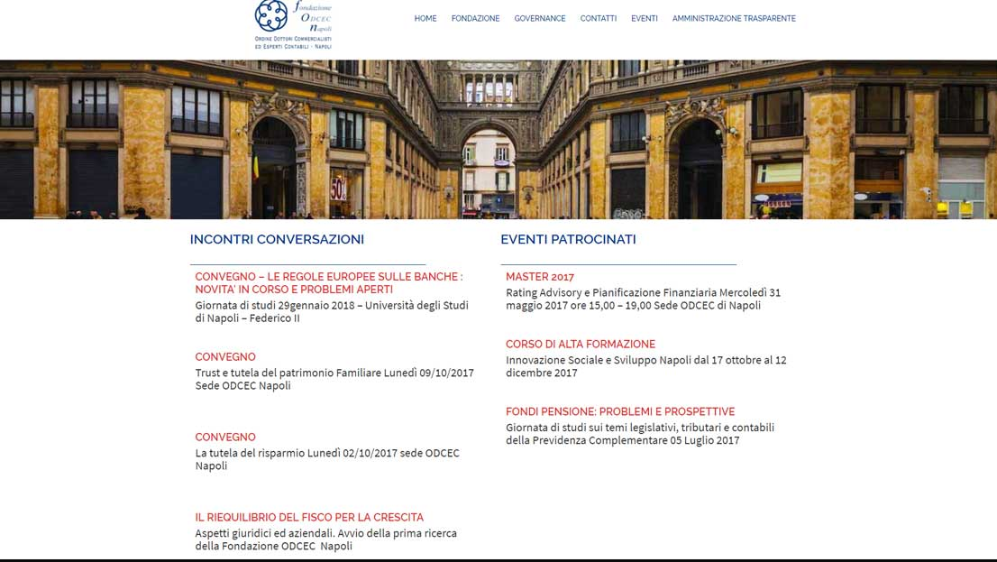 Fondazione commercialisti Napoli